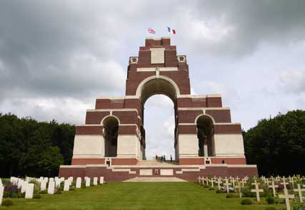 Das Memorial vonl Thiepval